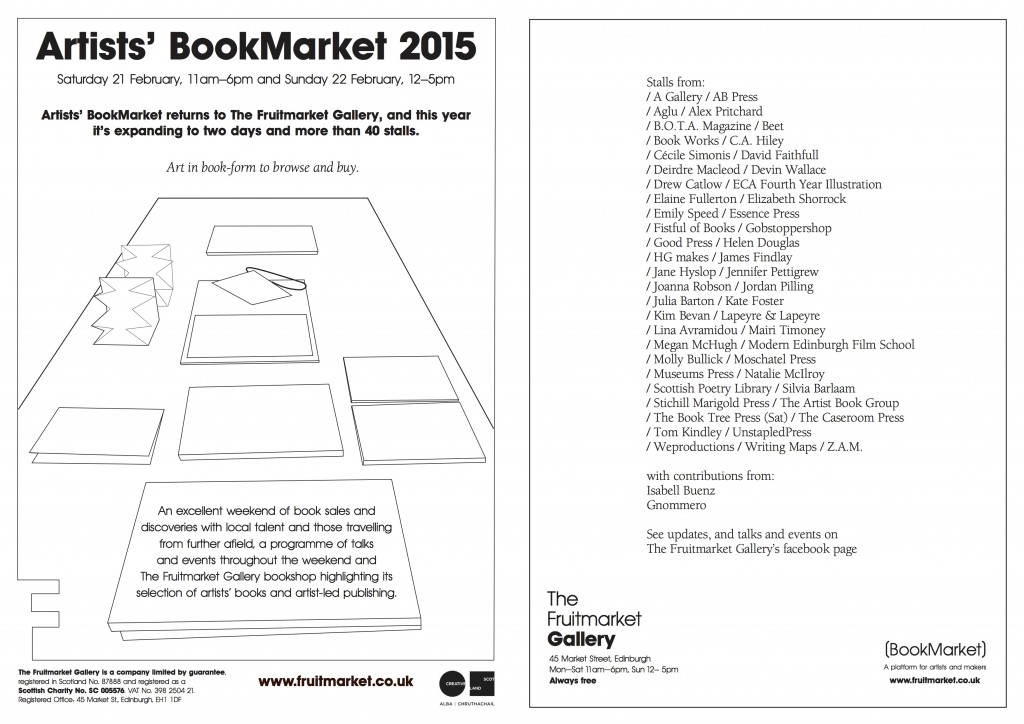 Artists' Book Market