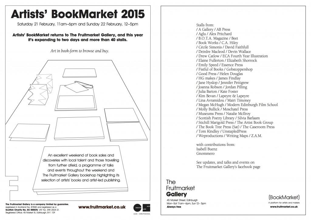 Artists' Book Market